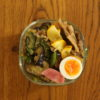 夏野菜と豚肉の味噌炒め弁当、基礎その後