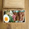 白菜漬け炒めと太刀魚の蒲焼弁当