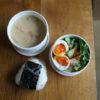 粕汁と青菜入り肉豆腐弁当