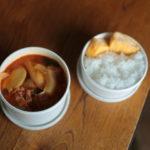 コチュジャン風味の白菜漬け鍋弁当