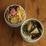 鍋の残りと激辛高菜ご飯弁当