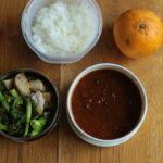チキン豆カレー弁当