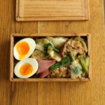 豚肉と白菜漬け炒め弁当