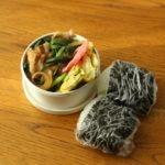 ニラ豚炒め弁当
