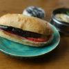 茄子とトマトのサンドイッチ弁当
