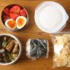 夏野菜のドライカレー弁当