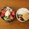 鮭ハラスの大葉巻き弁当