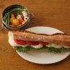 チーズと生ハムのサンドイッチ弁当