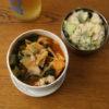 白菜漬けと豚肉のスープ弁当