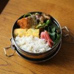 鮭と椎茸のバターポン酢炒め弁当と芦屋散策