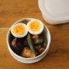 味噌漬け鶏と野菜の炒め物弁当