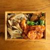 鶏チリと舞茸ご飯弁当