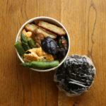 アスパラと玉子炒め弁当