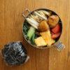 里芋と薄揚げの炒め物弁当